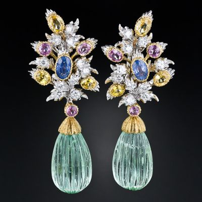 Buccellati_Green_Beryl_Earrings