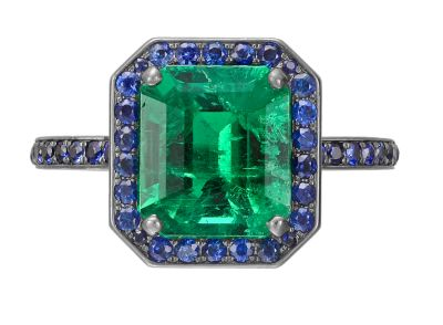 manuel-bouvier-emerald-ring-sapphire-surround