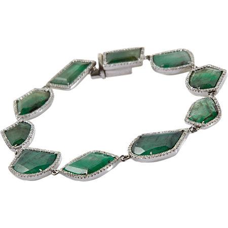 Monique-Pean-Diamond-Emerald-Slice-Bracelet