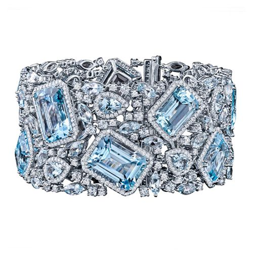 Robert-Procop-Blue-Topaz-Diamond-Bracelet