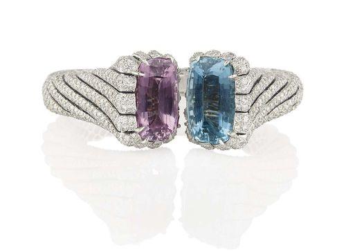 A-pink-topaz-aquamarine-And-diamond-bangle-by-Verdura-1968-the-property-of-Madame-Hélène-Rochas-estimate-Image-credit-Denis-Hayoun-Diode-SA-Geneva.