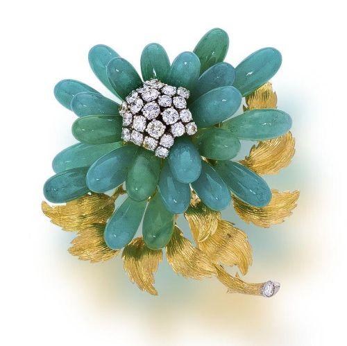 An-aventurine-quartz-and-diamond-brooch-David-Webb1