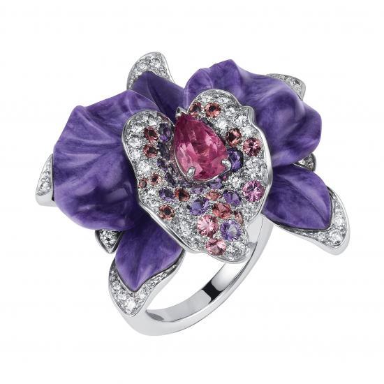 3- cartierCaresse d'Orchidées par Cartier brooch23633