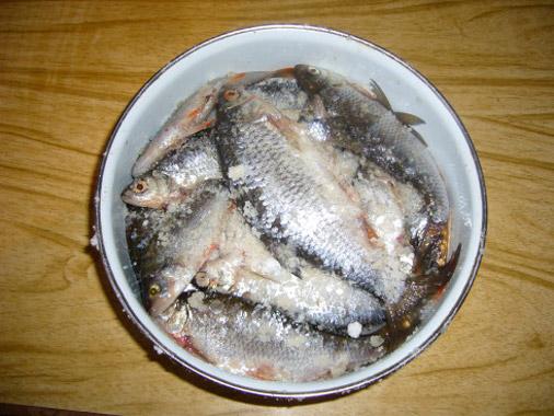 Как сделать пересоленную рыбу малосольной