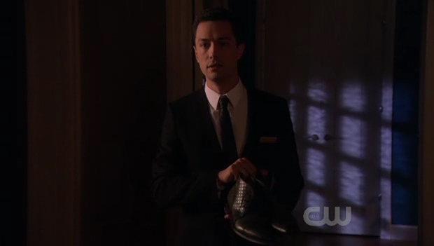 Christian Coulson as 'Ivan', the valet