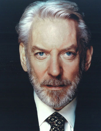 Donald Sutherland Cast as President Snow in The Hunger ...