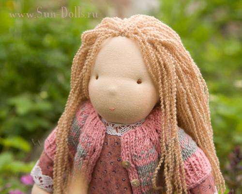 Вальдорфская кукла для одевания Мия: naughty_liss ...