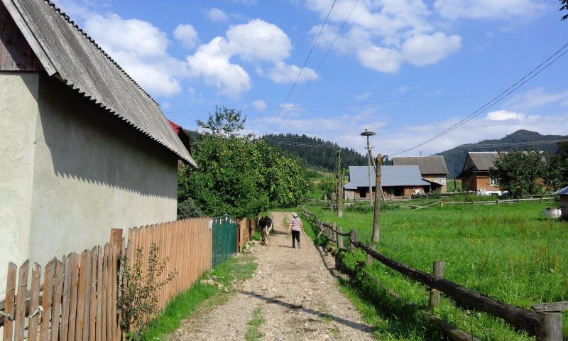 Один день луганчанки у карпатському селі
