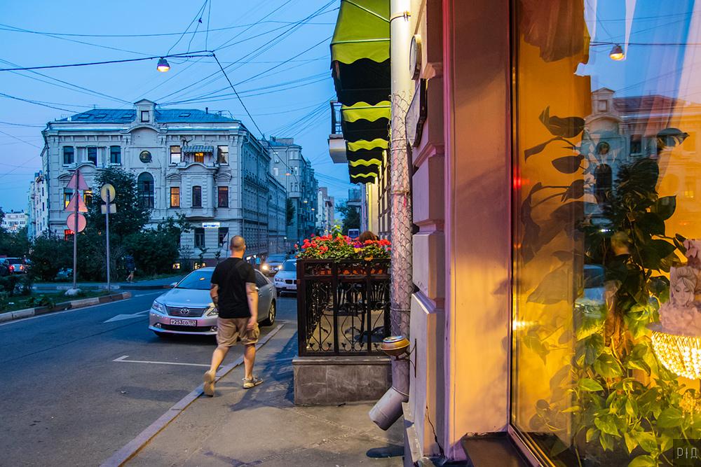 Из прогулок по Москве, апрель — сентябрь