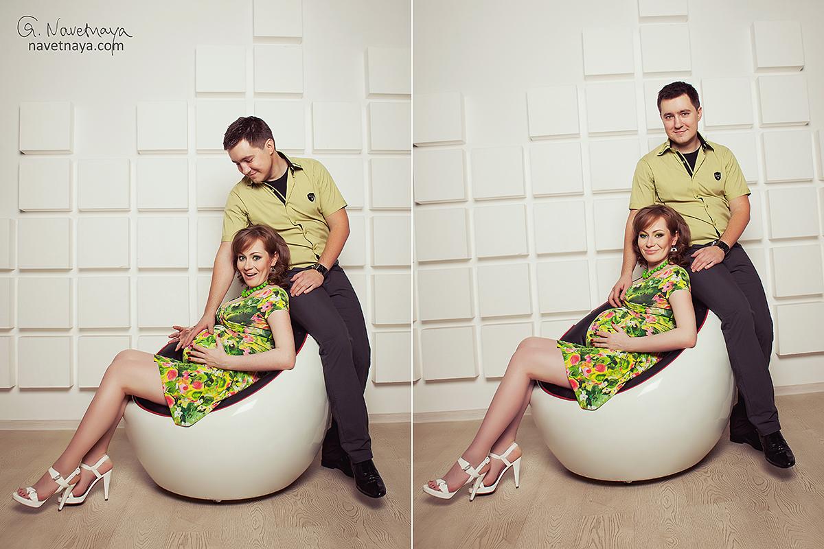 A фотосессии беременных интересные