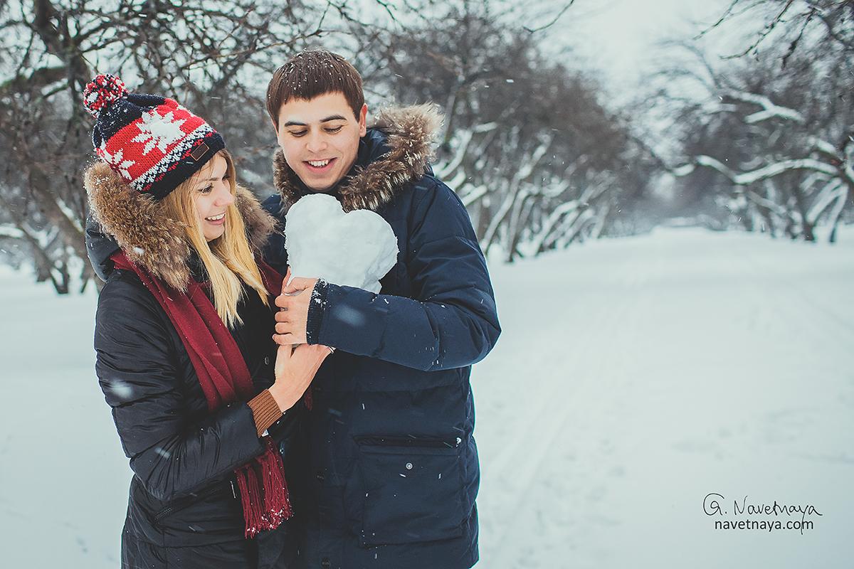Влюбленность зимой картинки