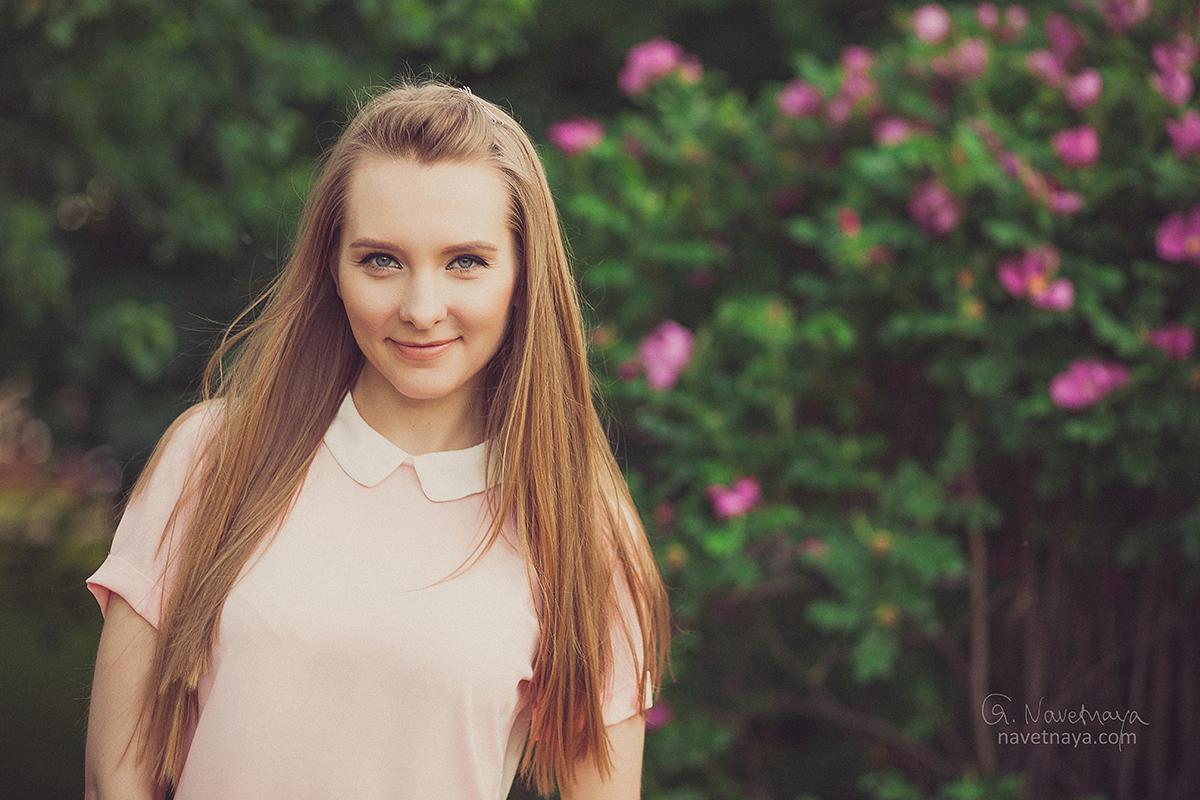 Борисова портреты красивой девушки