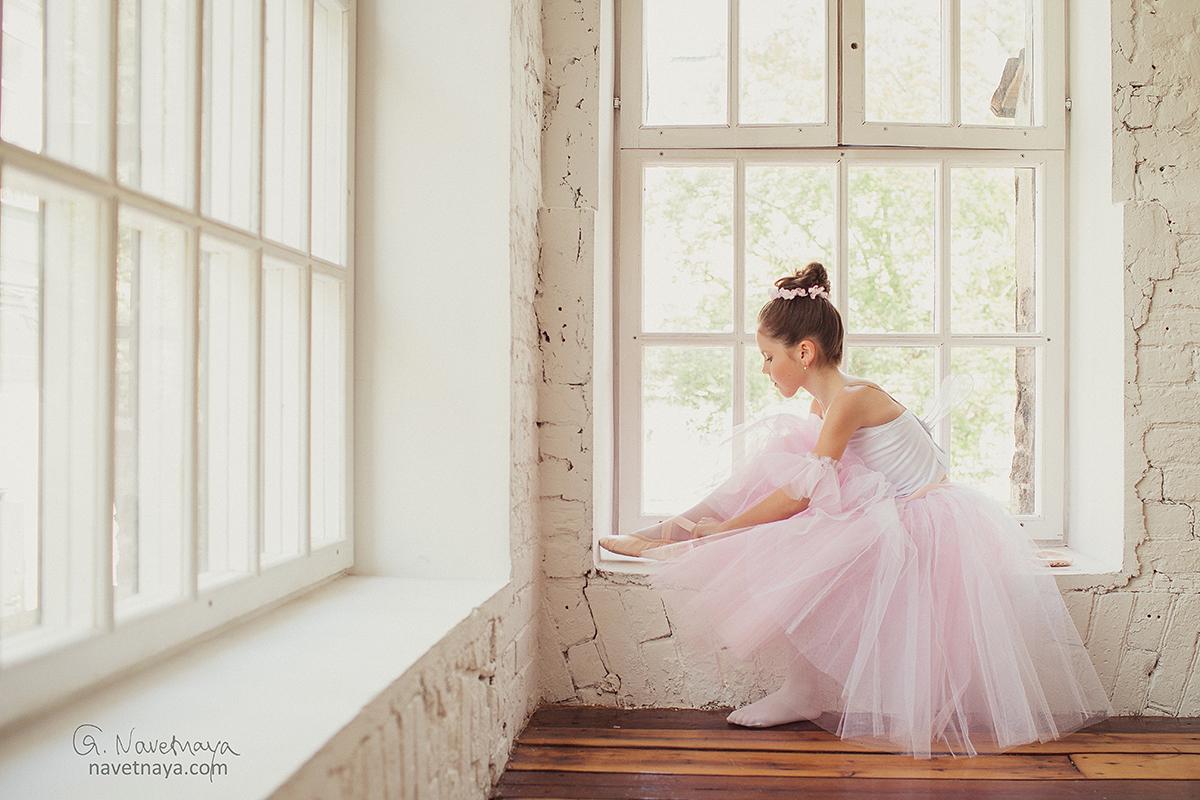 Фотостудия для балерин своим экологическим