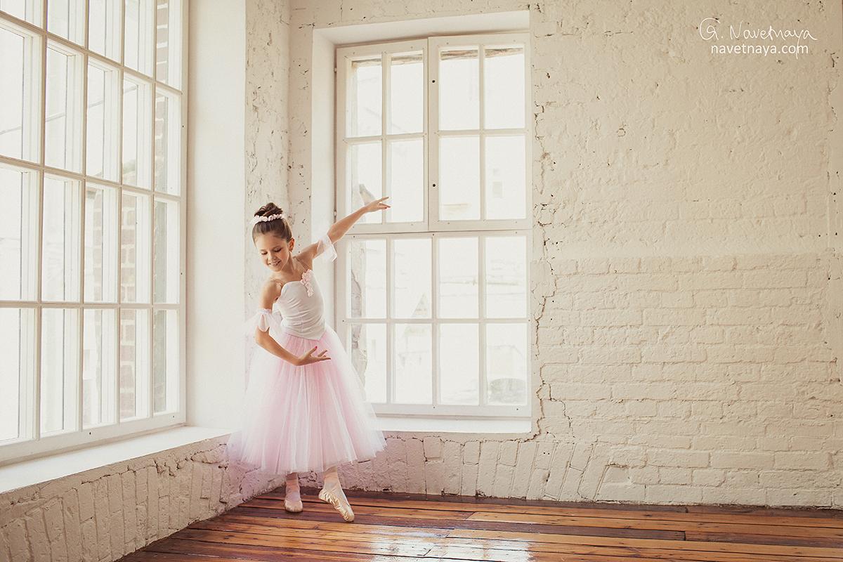 Фотостудия для балерин одноэтажных