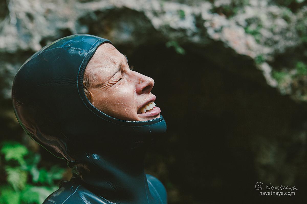 Репортаж. Мексика. Сенот. Фридайвинг. Наталия Жаркова. Урок по фридайвингу. Ныряние на задержке дыхания. Оборудования для фридайвинга.