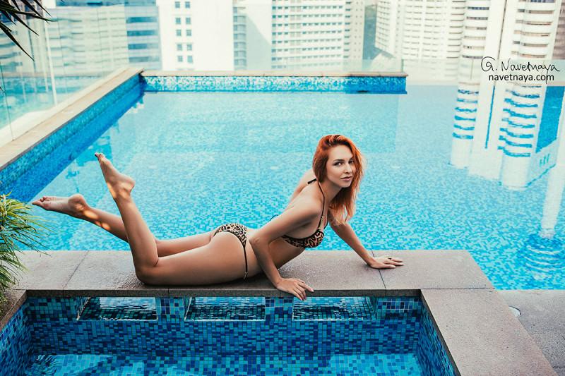 Фотограф за границей. Малайзия. Куала-Лумпур. Фотосессия в отеле. Будуарная фотография. Фотограф Александра Наветная. Фотограф на Бали.