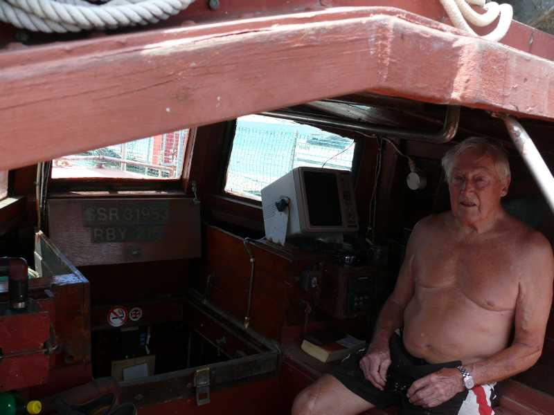 15 ЯНВАРЯ, 201 г. КАПИТАН RON И  яхта ALBION (8)