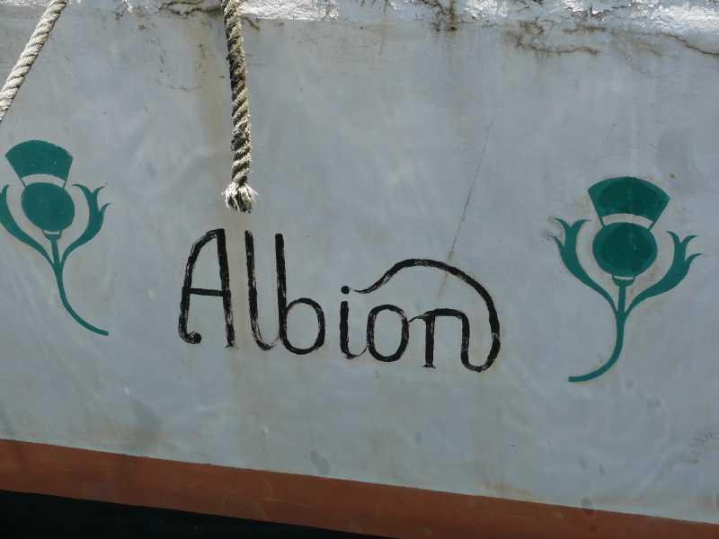 15 ЯНВАРЯ, 201 г. КАПИТАН RON И  яхта ALBION (63)