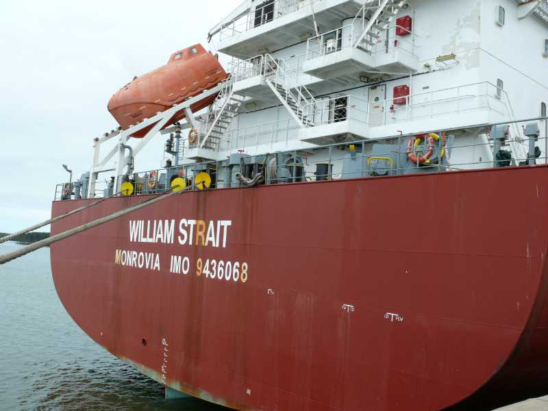 22 ЯНВАРЯ, 2014 г. MV WILLIAM STRAIT (3)