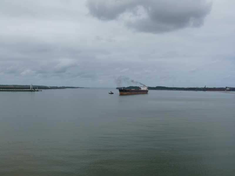 22 ЯНВАРЯ, 2014 г. MV WILLIAM STRAIT, капитан АЛЕКСАНДР НАСОНОВ (53)