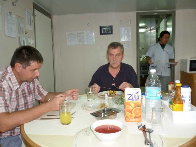 22 ЯНВАРЯ, 2014 г. MV WILLIAM STRAIT, капитан АЛЕКСАНДР НАСОНОВ (61)