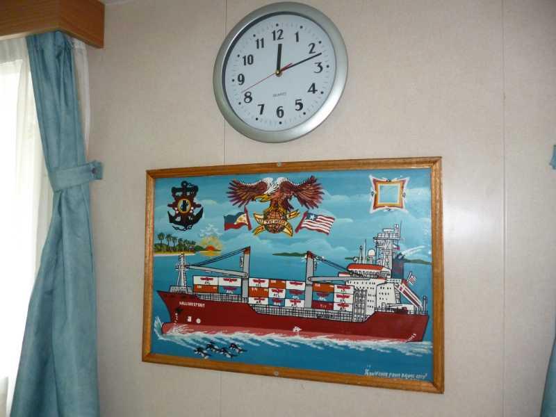 22 ЯНВАРЯ, 2014 г. MV WILLIAM STRAIT, капитан АЛЕКСАНДР НАСОНОВ (60)