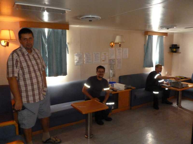 22 ЯНВАРЯ, 2014 г. MV WILLIAM STRAIT, капитан АЛЕКСАНДР НАСОНОВ (76)