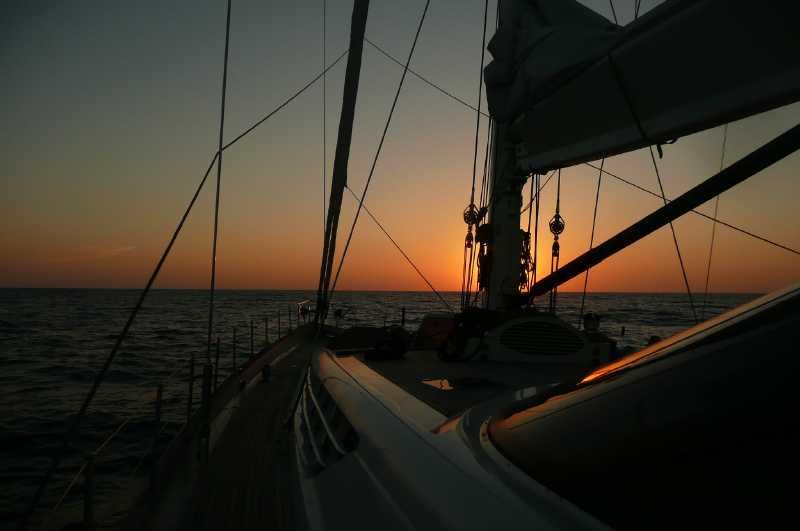 11 ФЕВРАЛЯ, 2015 г. ЗАКАТ в Карибском море (1)