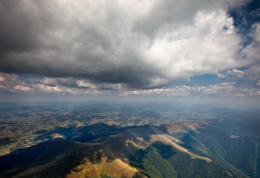 Боржавский хребет Карпаты