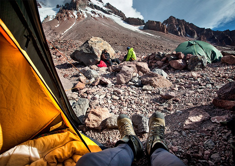 Подъем на гору Казбек (высота 4100м).