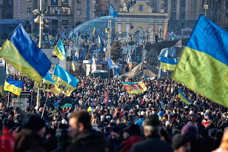 Евромайдан фотографии