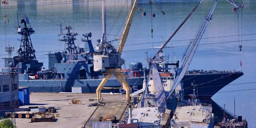 БПК 1155 Адмирал Левченко 2016 (06) 35 СРЗ (1) - Балабин 1696 1155-86.jpg