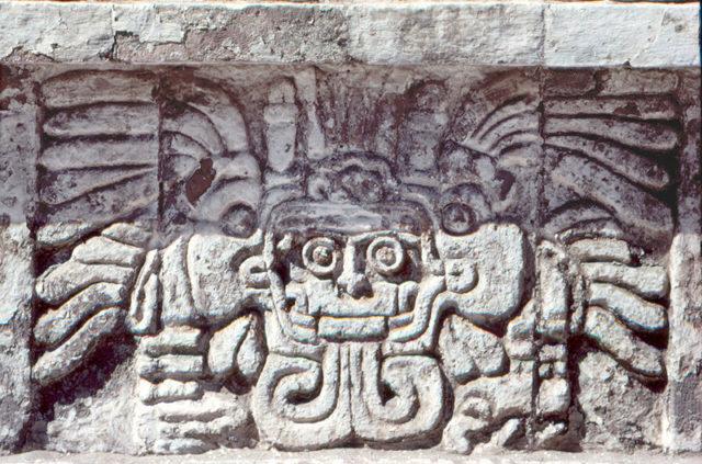 Изображение в храме Тлауискальпантекутли в Туле,