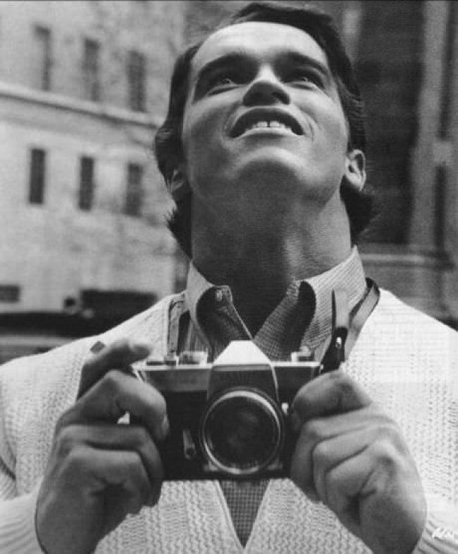 Арнольд Шварценеггер первый раз в Нью-Йорке1968.