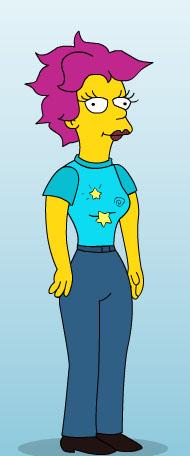 Nayad Monroe, Simpsons-style