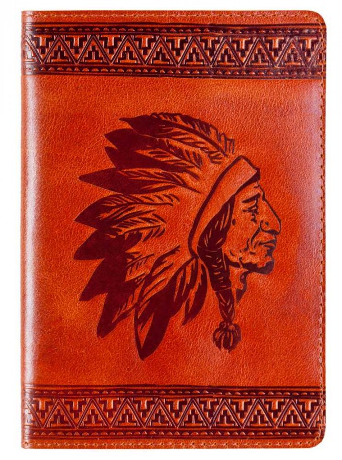 6Turtle passport cover, art indian2