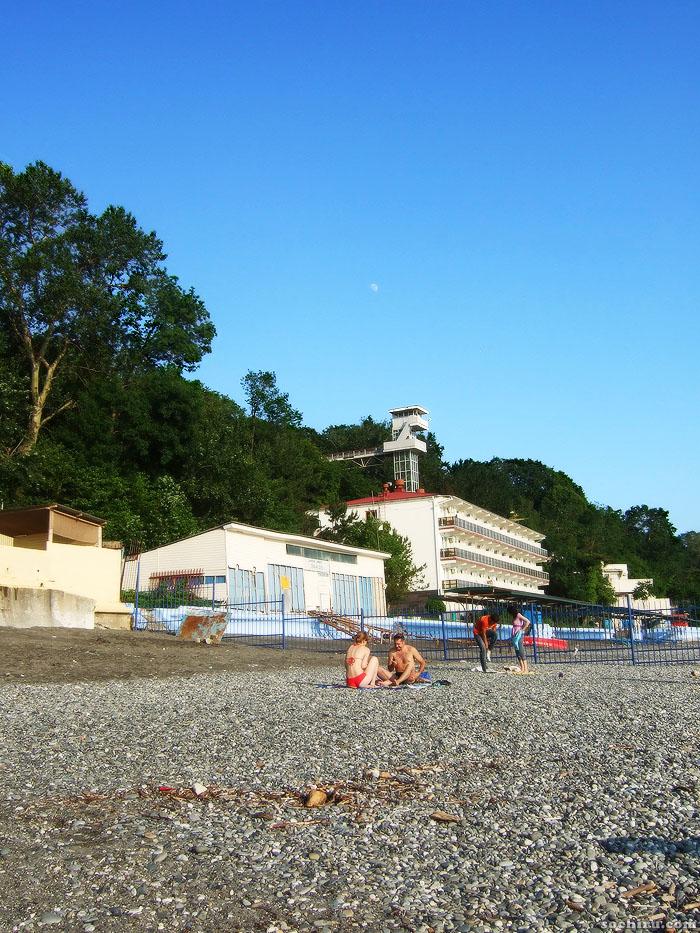 Море в середине июня