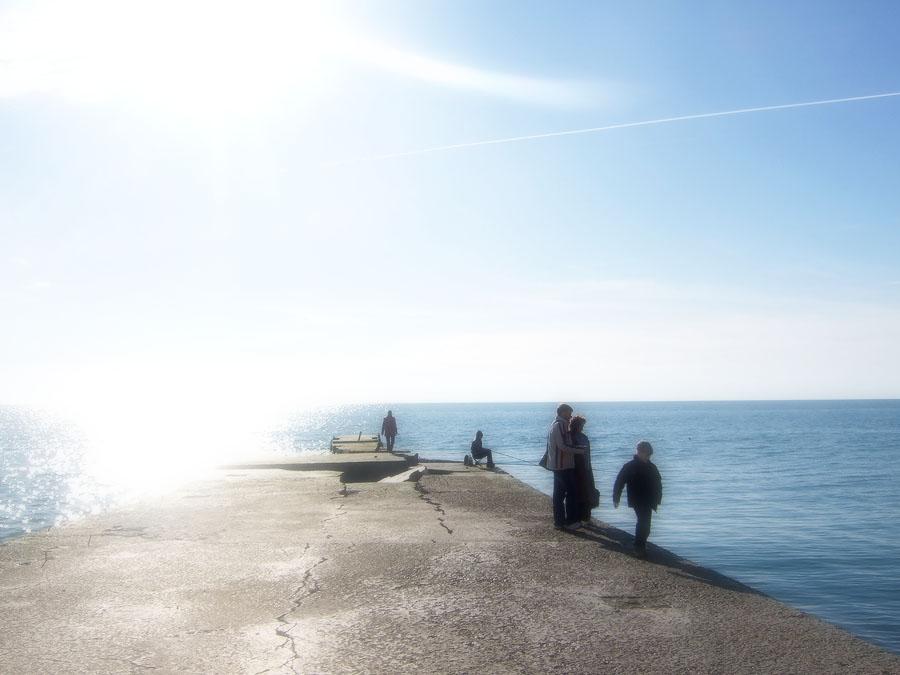 море в марте