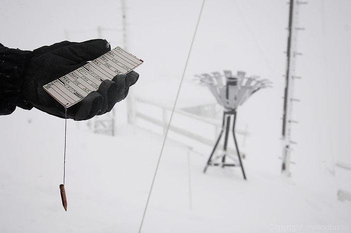 Метеостанция на вершине Аибги