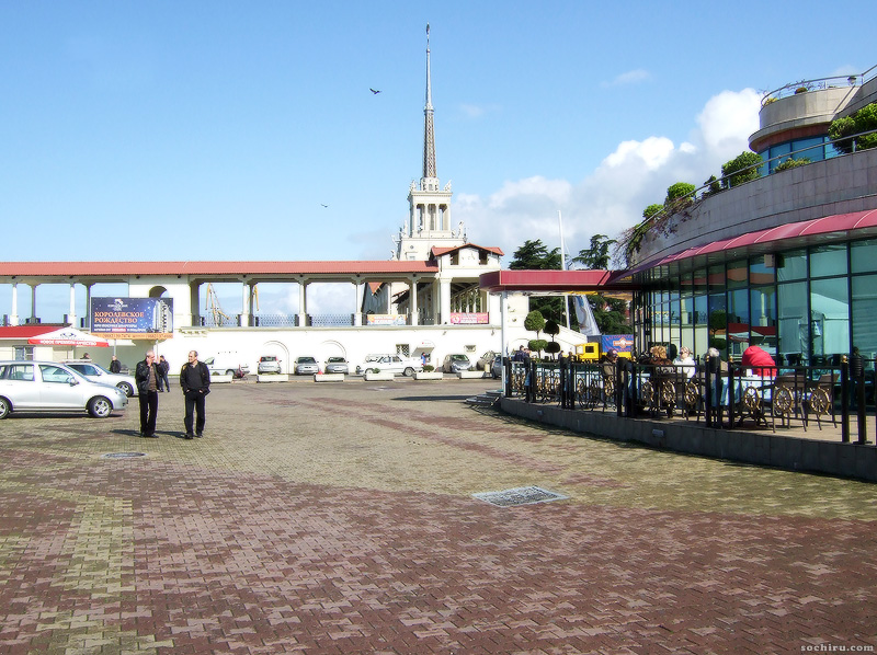 Здание морского вокзала