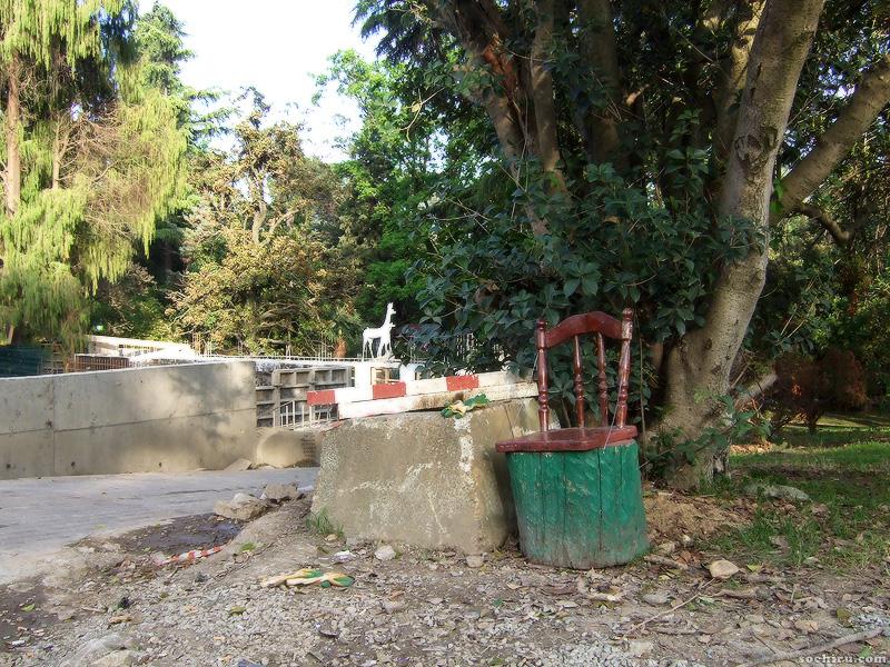 Стул прораба в парке Ривьера