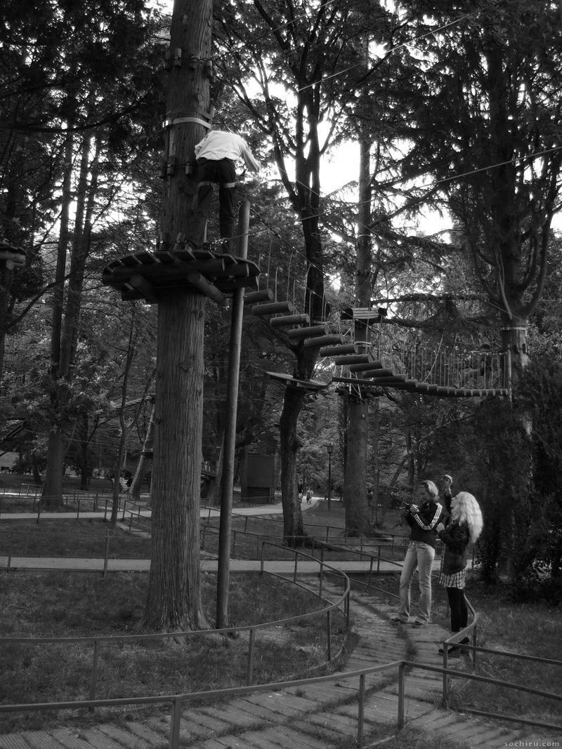 экстрим в парке Ривьера