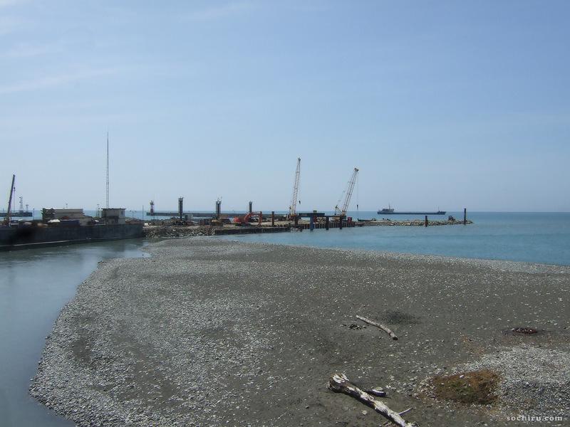 Расширение акватории морпорта