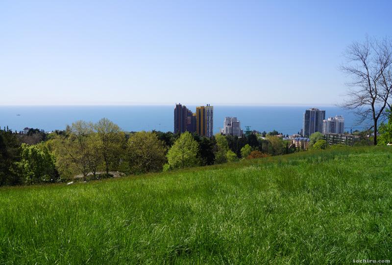 Парк Дендрарий весной