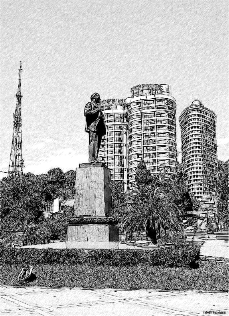 Памятник В.М. Ленину в Сочи