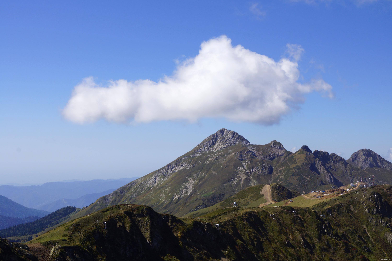 Облако, нависшее над Аибгой