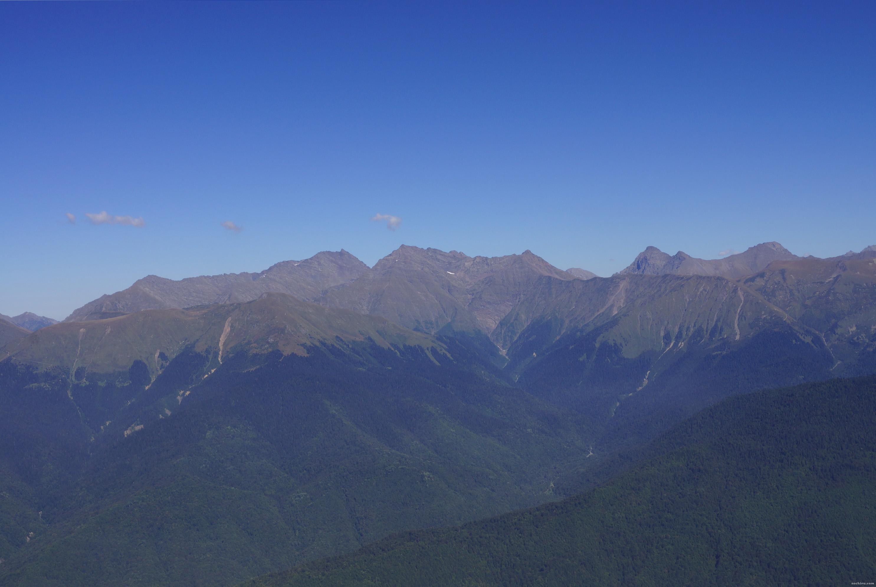 Величественные горы