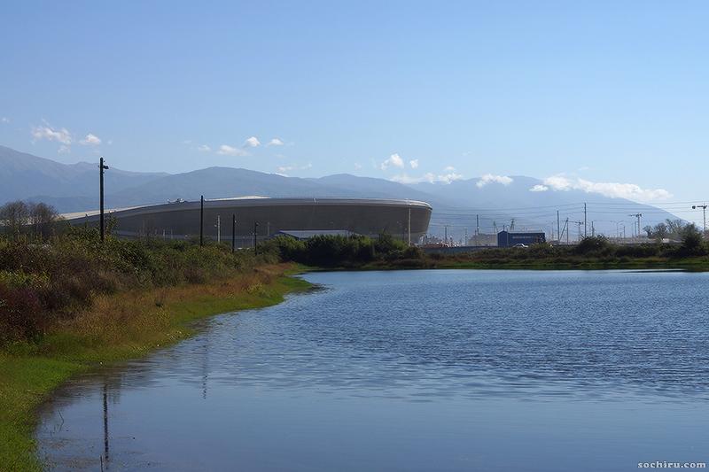 Конькобежный стадион в Имеретинской низменности