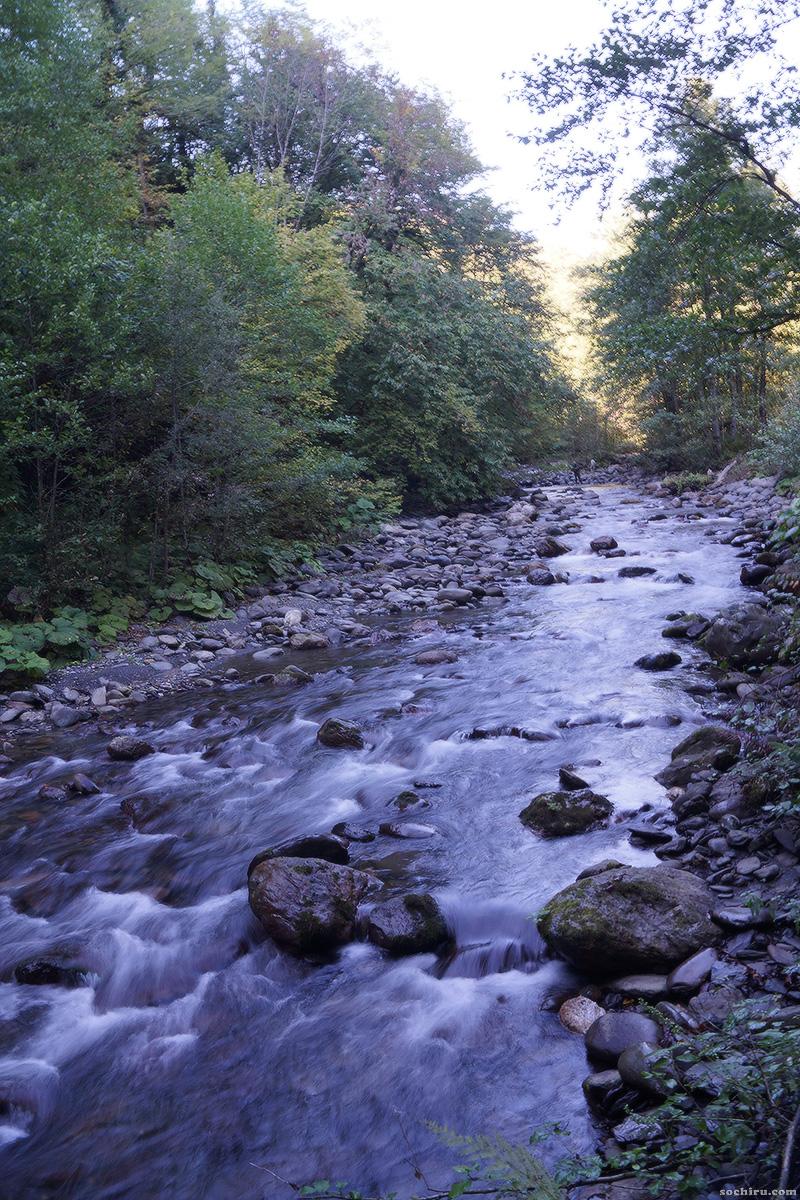 Верховья реки Чвижепсе