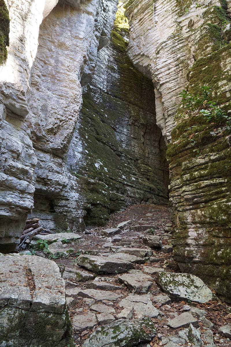 Сухой каньон Псахо